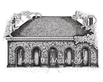 Historic Hanover County Courthouse, Hanover County, Virginia