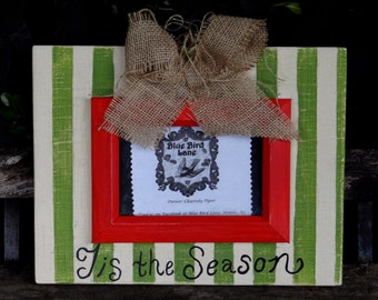 Rustic Distressed Wood 4 X 6 Christmas Picture Frame