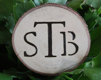 Popular items for monogrammed ornament