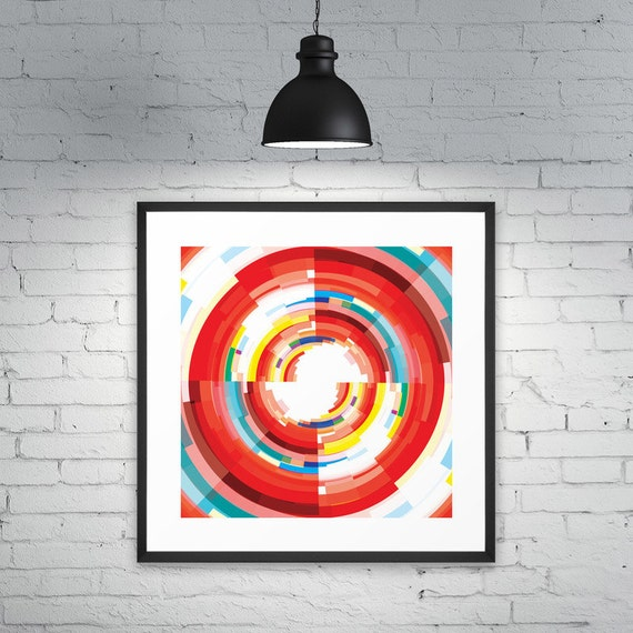 Orbicular Colours - modern illustration and wall art