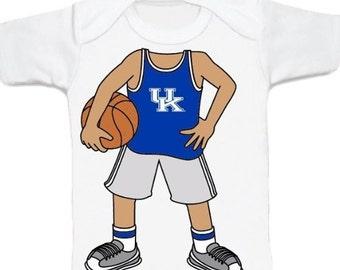 Kentucky Wildcat Heads Up! Basketball Baby T-Shirt