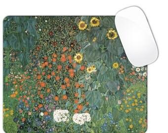 Klimt Sunflowers Mouse Pad MousePad