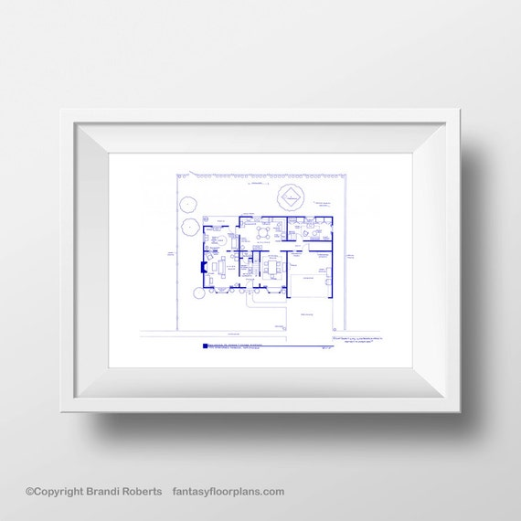 Simpsons House Layout Famous TV Show Floor Plan By