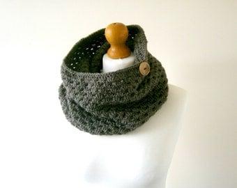 CROCHET COWL PATTERN, Crochet Cowl, Crochet Scarf Pattern, Crochet Scarf, Cowl Pattern, Scarf Pattern, Crochet Pattern - The Lynette Cowl