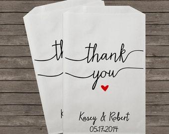 Wedding Favor Bags, Candy Buffet Bags, Candy Bar Bags, Favor Bags, Personalized Wedding Favor Bags, Treat Bags, Custom Favor Bags, Kraft 21