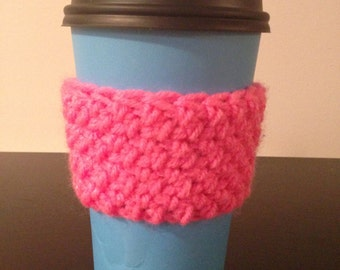 Coffee Cozy - Pink