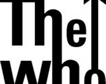 The Who Inspired Sticker