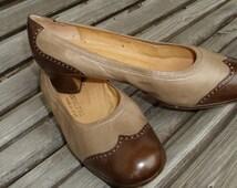 vintage 70s granny shoes, rockabilly, retro leather pumps, shoes