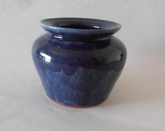 Deep Blue Terracotta Decor - Australian Made by Artist Travis Collins