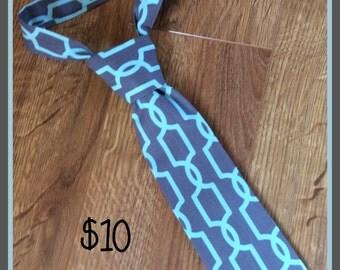 Handmade Little Boy Neck Tie / necktie