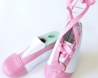 Sporty Ballerina Handmade Leather Childrens Shoes