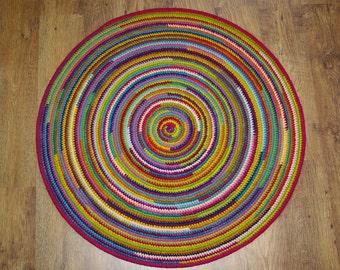 Round Rug, 42,5u0027u0027 (108 Cm)/Rugs/Rug