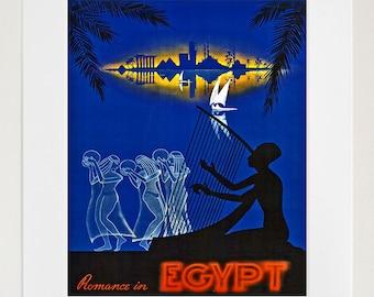 Egypt Art Travel Poster Tourism Print (TR21)