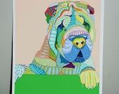 Pet art- Archival Print