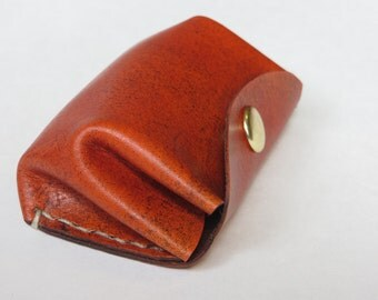 Leather Change Purse, Leather Coin Purse