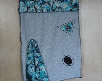 Recycled Tshirt Skirt