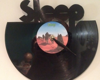 SLEEP dopesmoker vinyl record clock