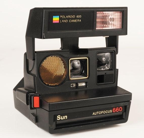 polaroid 600 land camera sun 660 af. Black Bedroom Furniture Sets. Home Design Ideas