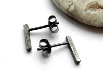 Earstuds, square post, 10mm