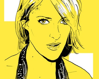Metric - Emily Haines A4 Print