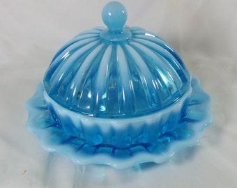Davidson & Company Bonbon Dish Pearline Blue