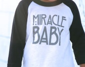 Miracle Baby Black - motherhood, my heart is full, mama, infant, pregnancy, preemie, kids fashion, modern motherhood, miracle baby, NICU,