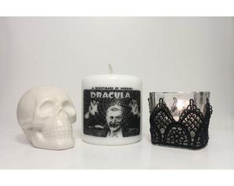 Dracula Bela Lugosi Pillar Candle