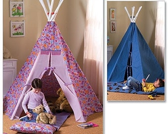 Butterick Sewing Pattern B4251 Teepees and Mat