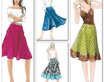 McCall's Sewing Pattern M5431 Misses' Skirt in Two Lengths