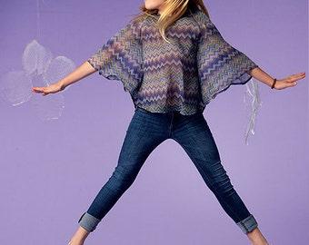 McCall's Sewing Pattern M6693 Girls'/Girls' Plus Top, Dresses, Skirt and Leggings