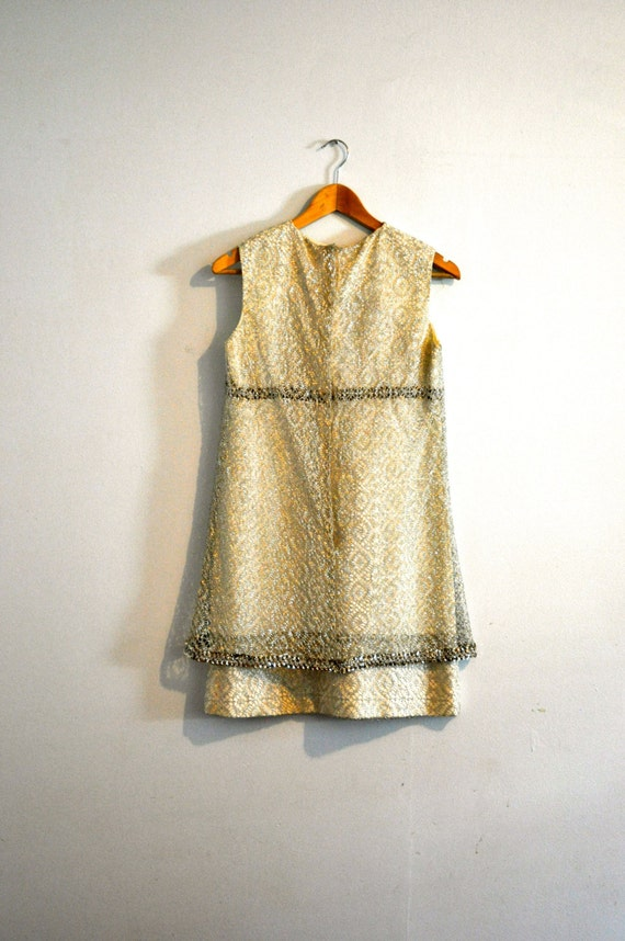 Vintage 60's Dress / 60s Mini Dress / 60s Vintage Dress / Vintage Minidress / 60s Mod Dress / Audrey Hepburn Dress / 1960s Vintage Dress