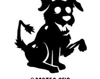 Zombie Family Decals - Dog
