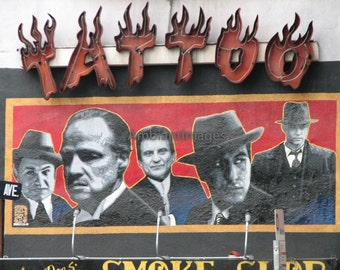 Graffiti 035 - Photographic print - wall art black white - vintage -Home Decor - Los Angeles,California.