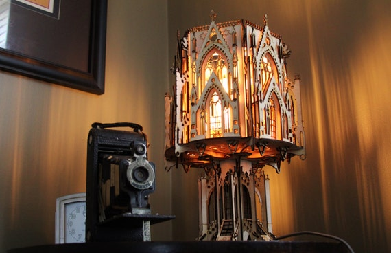 architectural wood lamps