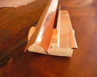 Solid Copper Corner Moulding