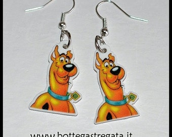Scooby Doo Cartoon Cartoons Handmade Earrings Earrings