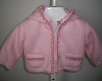 Size infant small fleece jacket (I-S 104)