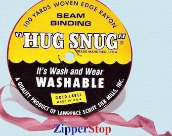 "POSIE - Hug Snug Seam Binding - 100 yard roll 1/2"" Wide - 100% Woven-Edge Rayon - Schiff"