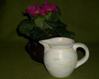 Pot, schabby chic style  (696)