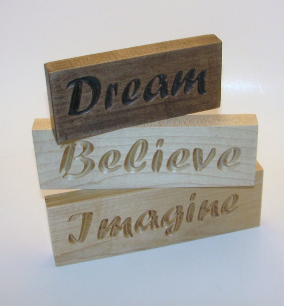 how to put words on wood signs