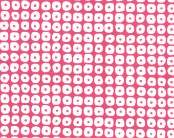 Premium quilting cotton fabric by the yard, pink dot designer fabric by Paula Prass for Michael Miller. Need more fabric yardage? Just ask.