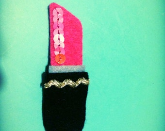 lipstick snap clip