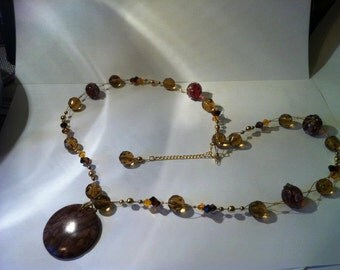 Brown Beauty Necklace