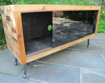 Reclaimed Wood Media Console, TV Stand,  Reclaimed Wood Furniture