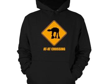 AT-AT Crossing Hoodie ATAT Star Wars Sweatshirt Shirt