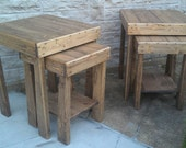 Handcrafted Nesting Tables!