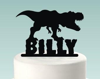 Dinosaur Cake Topper