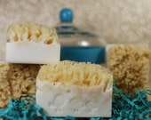 Natural Sea Sponge Soap Bars