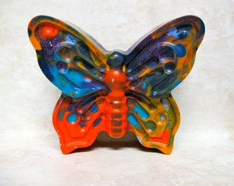Large Butterfly Crayons