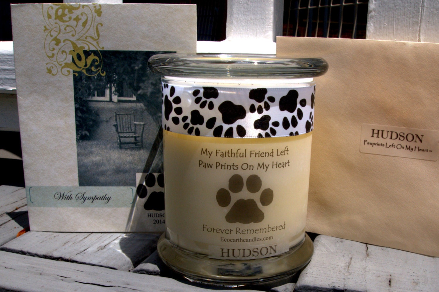 Pet Memorial Candles Forever Remembered Soy Candles with